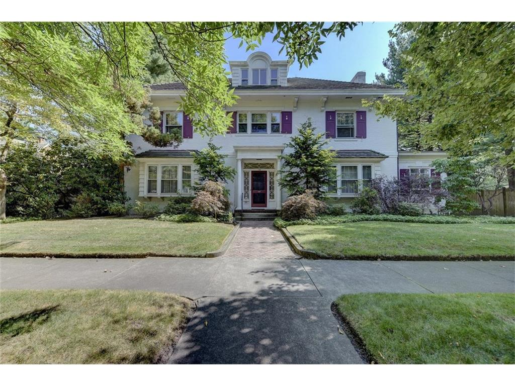 Magnificent turn-of-the-century brick Colonial